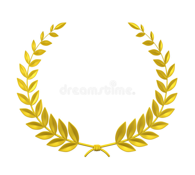 Laurel Wreath stock de ilustración