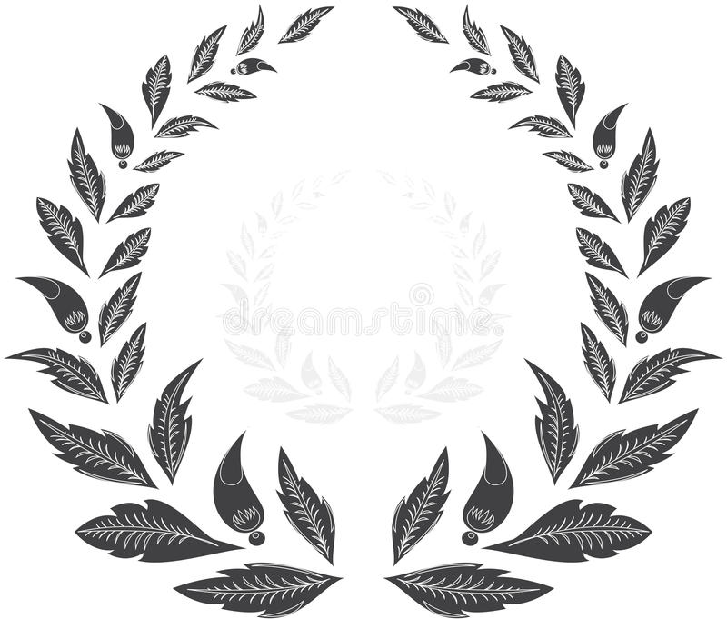 Laurel Wreath Award Winner Julius Caesar Rome White Crown