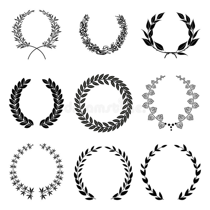 Download Laurel Wreath Stock Photos - Image: 33366933