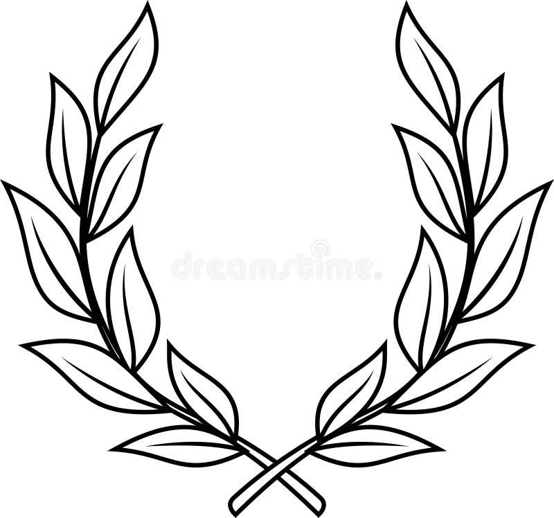 Download Laurel wreath  (Vector) stock vector. Image of trophy - 9683498