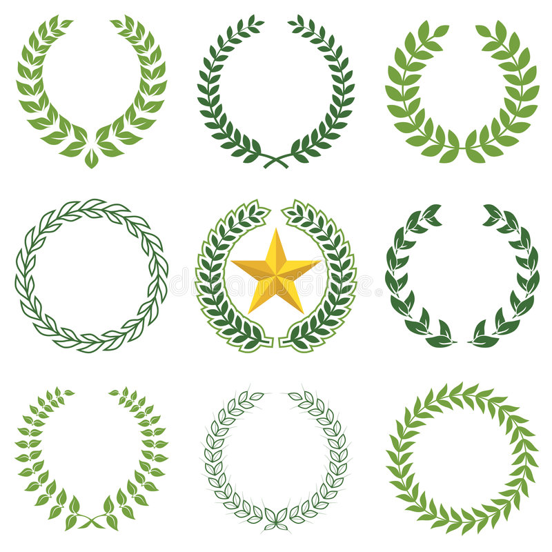 Free Laurel Wreaths Royalty Free Stock Images - 6715779
