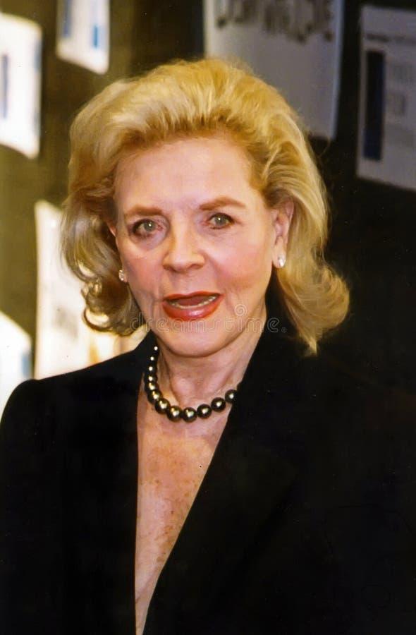 Lauren Bacall στοκ φωτογραφία με δικαίωμα ελεύθερης χρήσης
