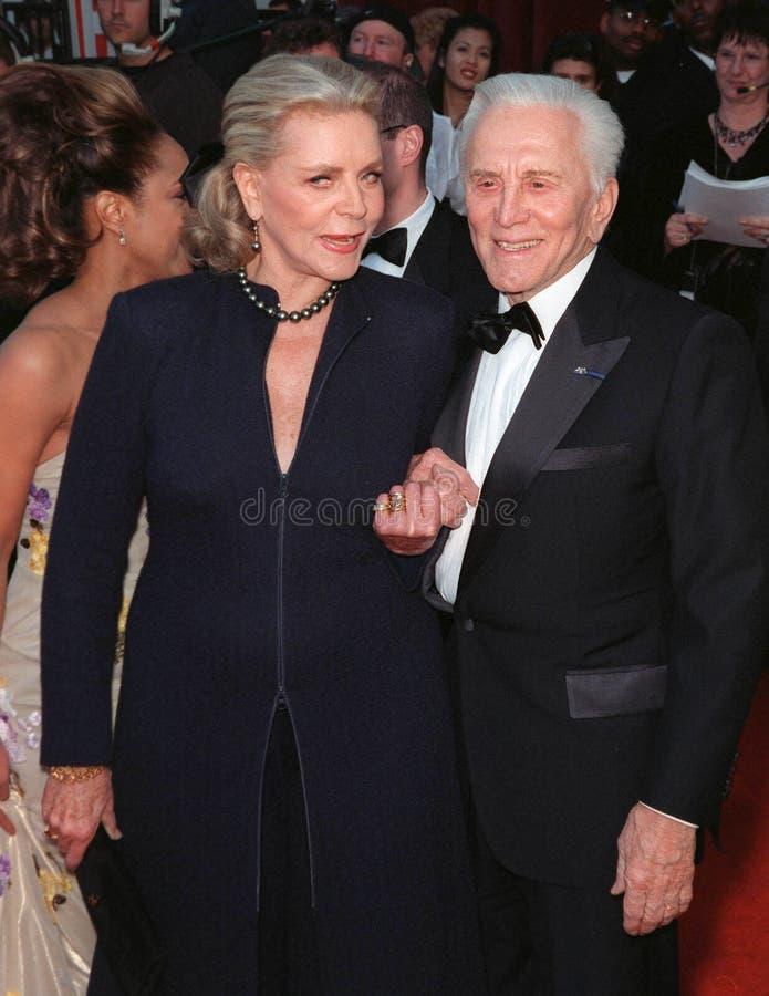 Download Lauren Bacall,Kirk Douglas editorial photo. Image of actors - 27213931