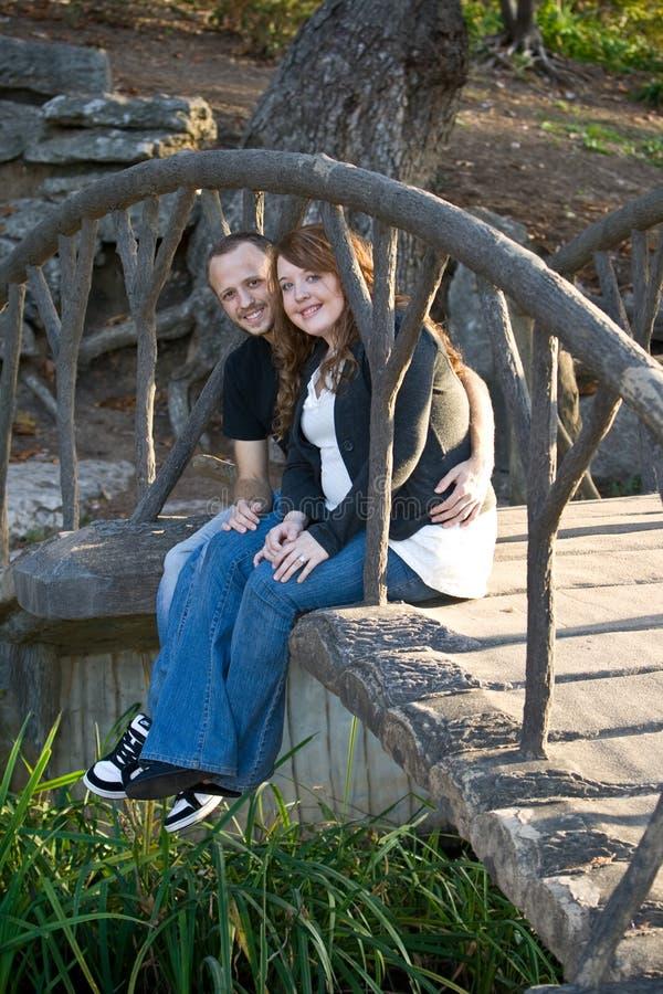 Lauren e Tim imagens de stock