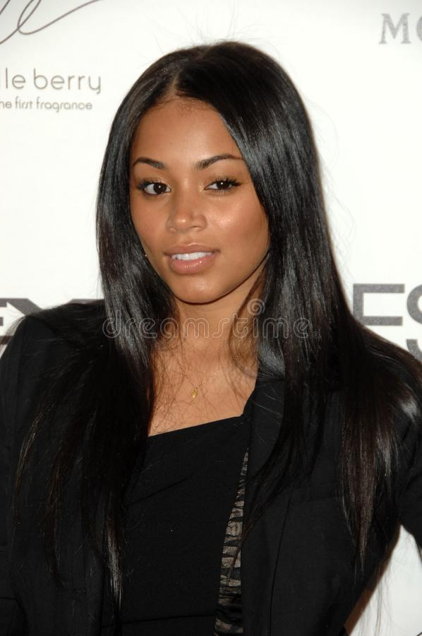 Lauren London. At the 2nd Annual Essence Black Women in Hollywood Awards Luncheon. Beverly Hills Hotel, Beverly Hills, CA. 02-19-09 royalty free stock images