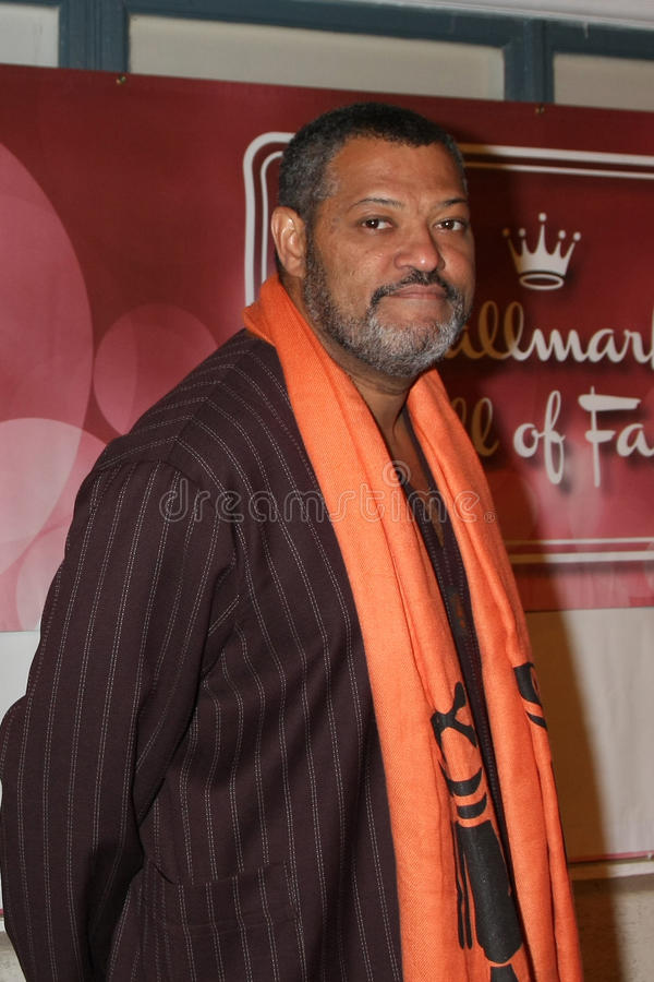 Laurence Fishburne photo libre de droits