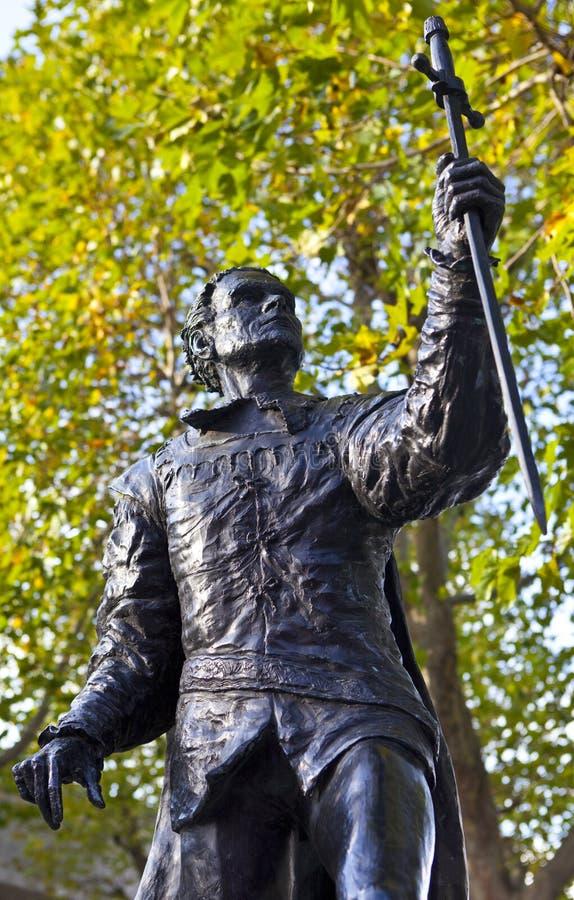 Laurence Olivier Statue à Londres photos libres de droits