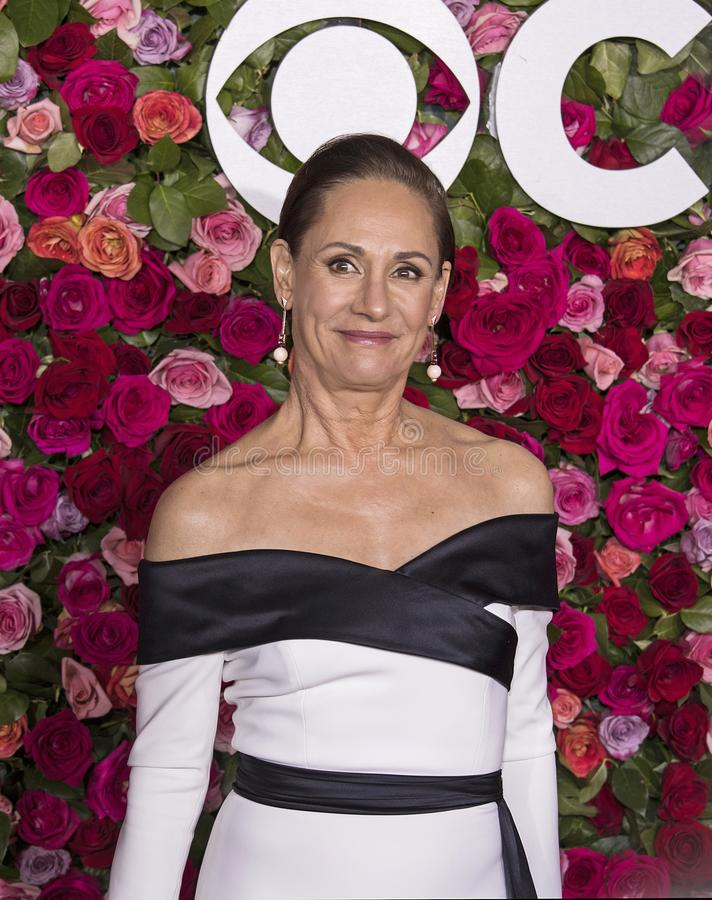 Laurie Metcalf chez Tony Awards 2018 photographie stock