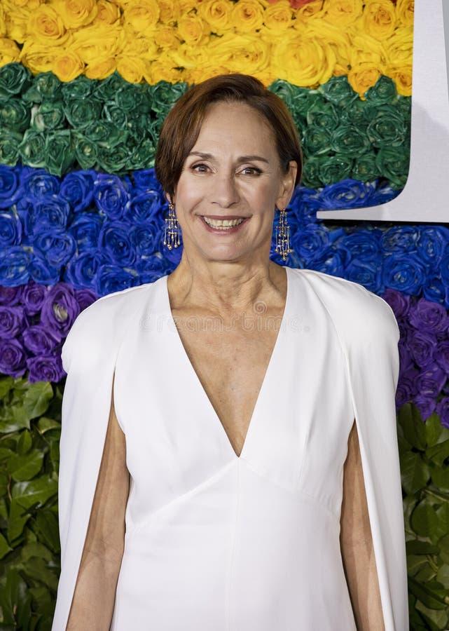 Laurie Metcalf en Tony Awards 2019 imagenes de archivo