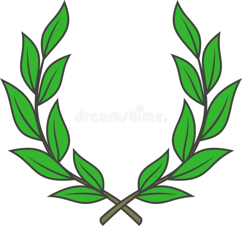 Laurowy wianek (Wektor) ilustracja wektor