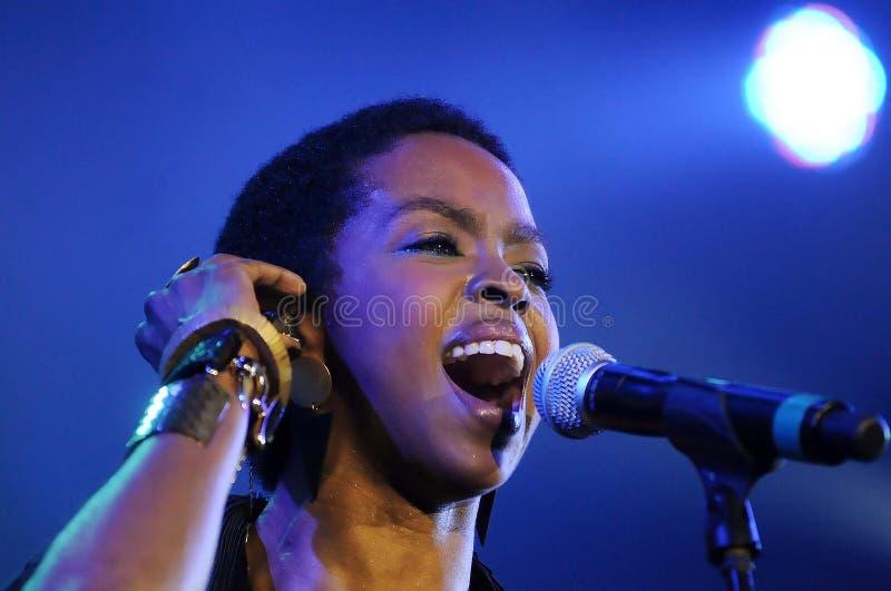 Lauryn Hill stockbild