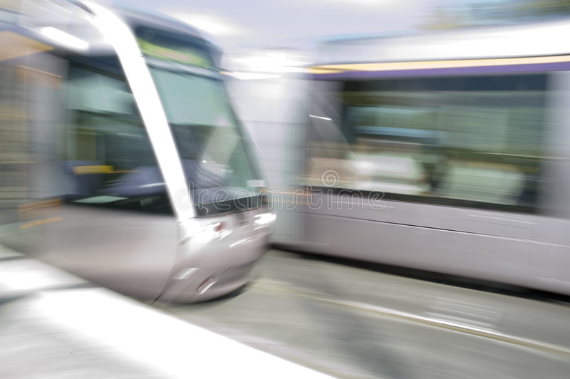 Laus Tram stock photos