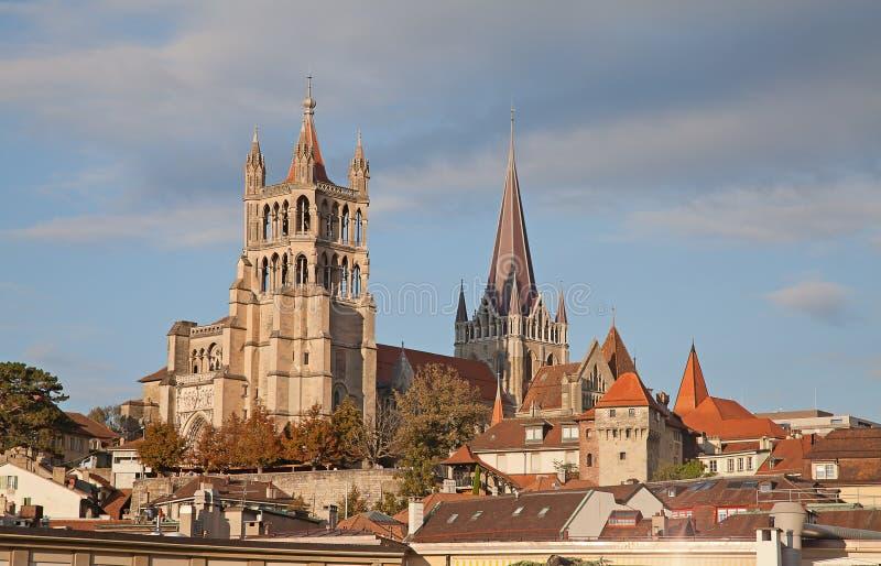 Lausanne fotografia stock