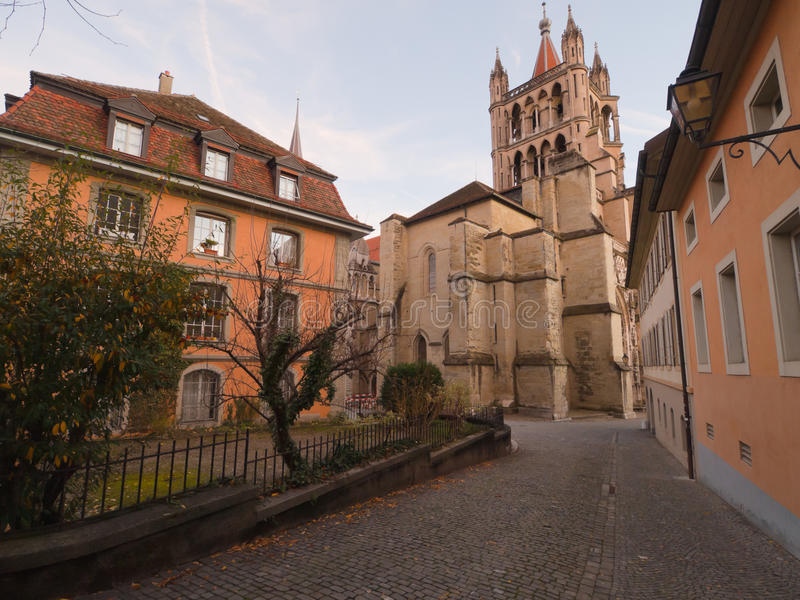 Download Lausanne Cathedral, Switzerland Stock Photo - Image: 16970382
