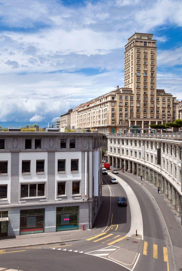 Download Lausanne Schweitz arkivfoto. Bild av bygger, switzerland - 27284206
