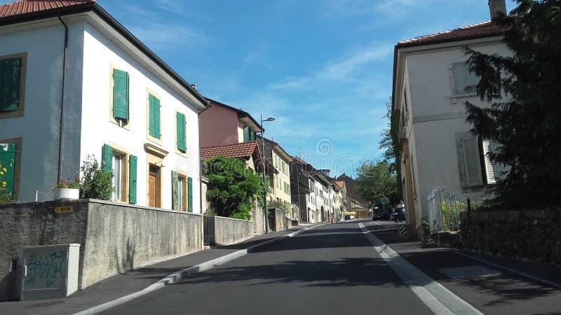 Lausanne widok obraz royalty free