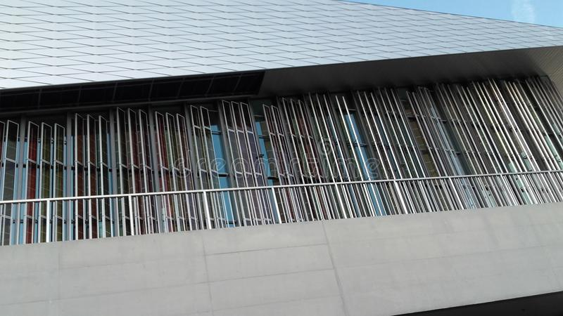 Lausanne widoku EPFL swisstech zdjęcia stock