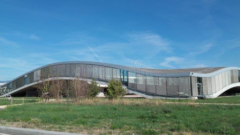 Lausanne widoku rolex EPFL zdjęcia stock
