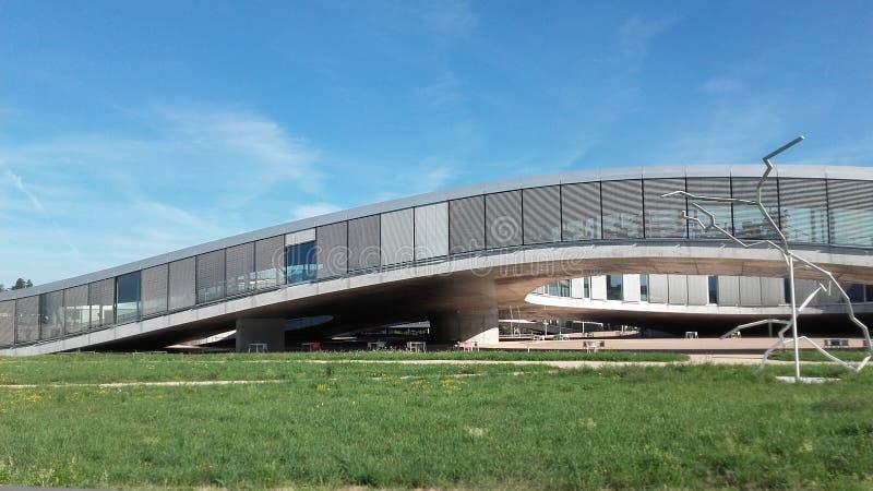 Lausanne widoku rolex EPFL obrazy stock