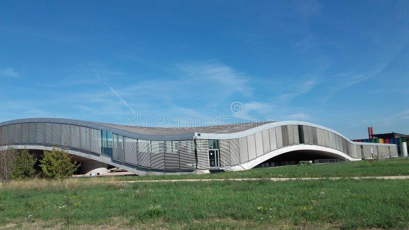 Lausanne widoku rolex EPFL zdjęcie stock