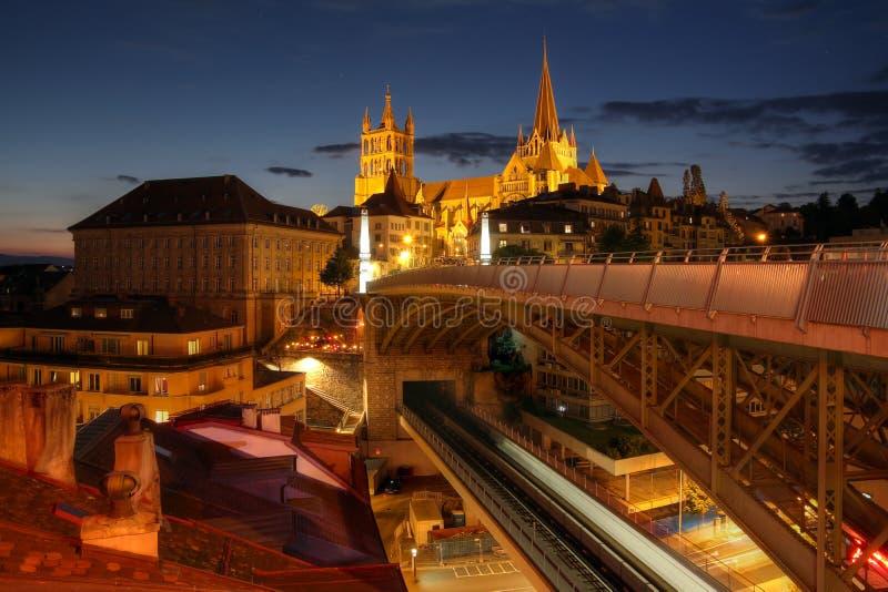 Lausanne, Zwitserland stock foto's