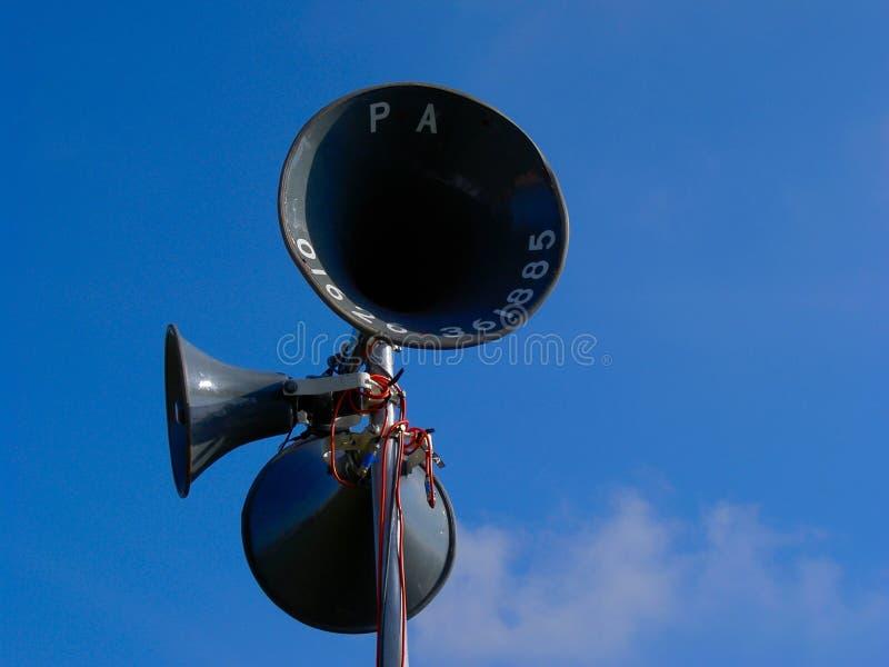 Laute Lautsprecher Stockfotos