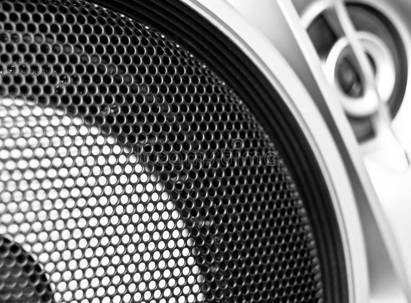Lauter Lautsprecher lizenzfreie stockbilder