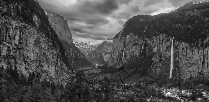 Lauterbrunnen, die Schweiz lizenzfreie stockfotografie