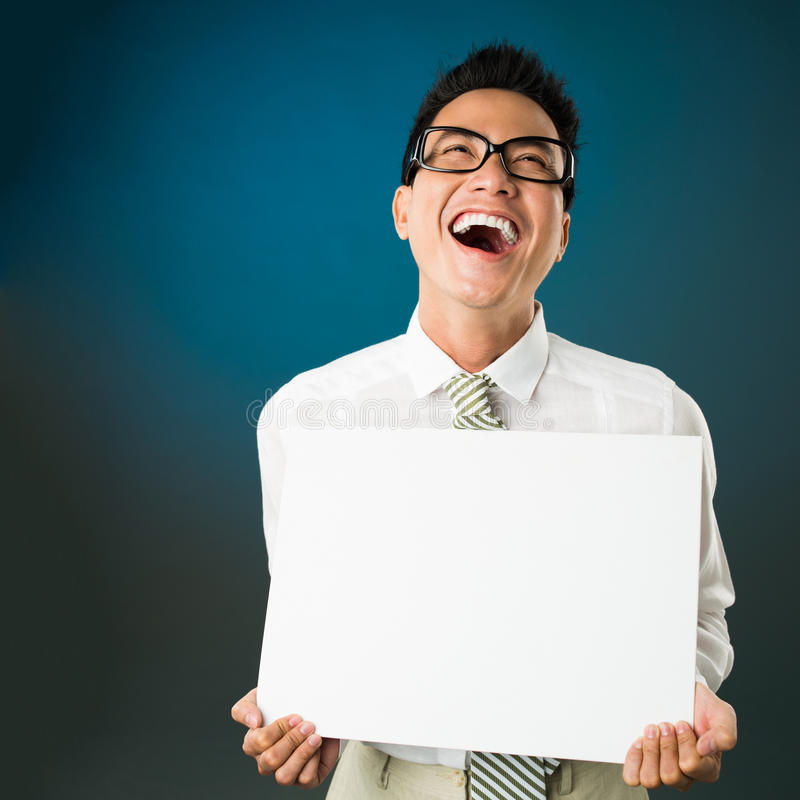 Lautes Lachen lizenzfreies stockfoto