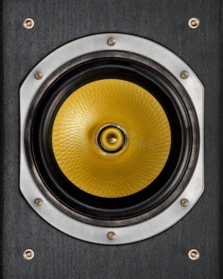 Lautsprecher lizenzfreie stockfotografie