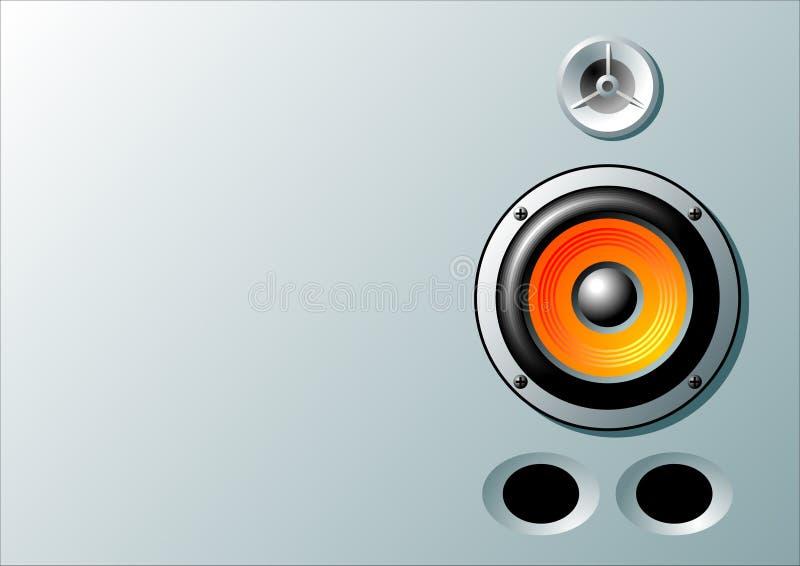 Lautsprecher stock abbildung