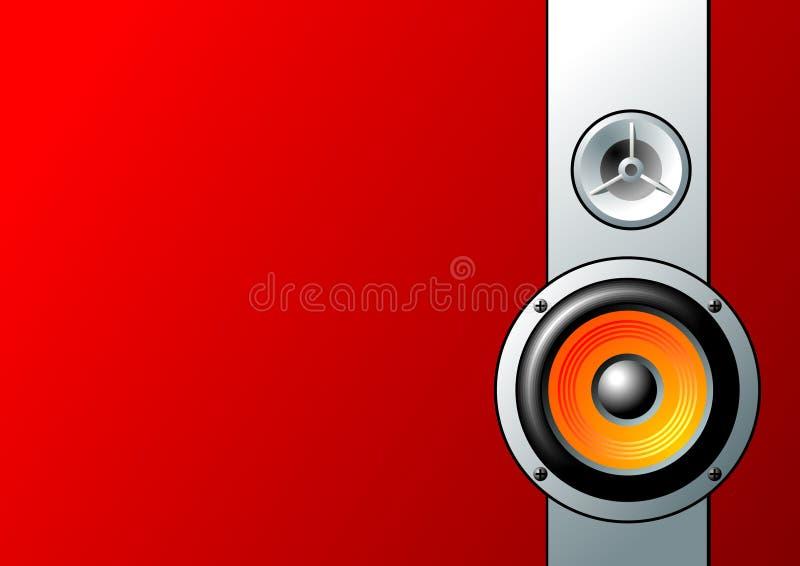 Lautsprecher stockbild
