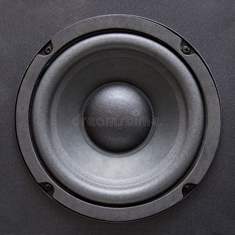 Lautsprecher lizenzfreie stockbilder