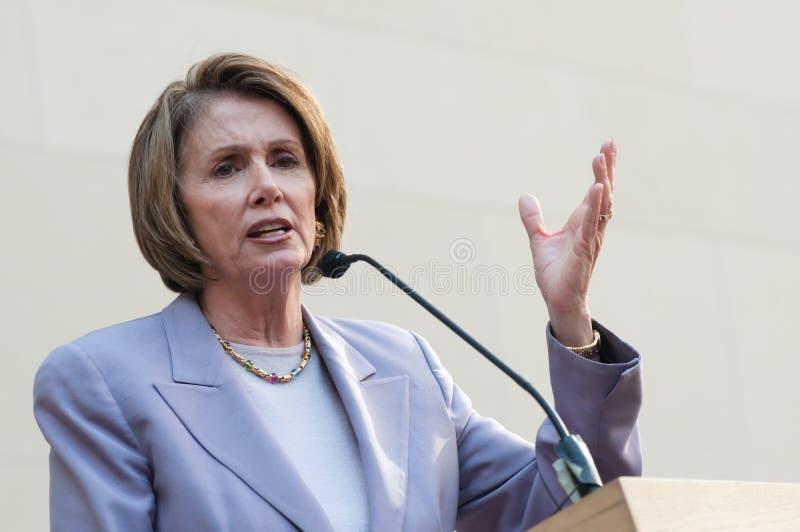 Lautsprecher des Hauses Nancy Pelosi lizenzfreie stockfotos