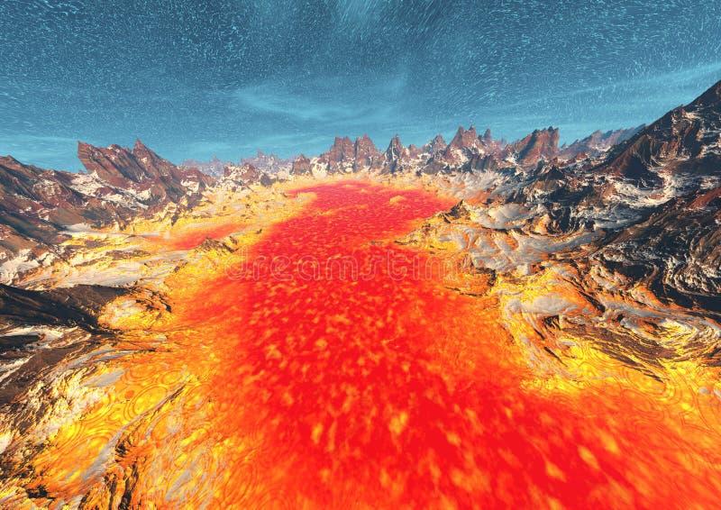 Lava Royalty Free Stock Photo