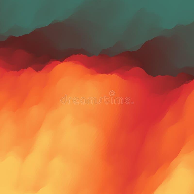 lava abstracte achtergrond Modern patroon Vector illustratie vector illustratie