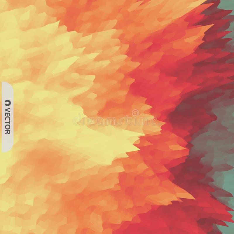 lava abstraia o fundo Teste padr?o moderno Ilustra??o do vetor para sua ?gua fresca de design ilustração do vetor
