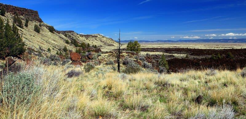 Lava Beds Overlook, Lava Beds National Monument, la Californie image libre de droits