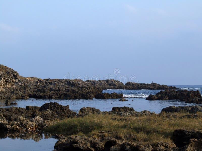 Lava coast royalty free stock image