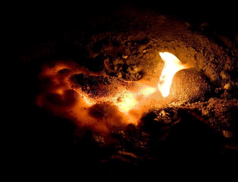 Lava derretida imagens de stock royalty free