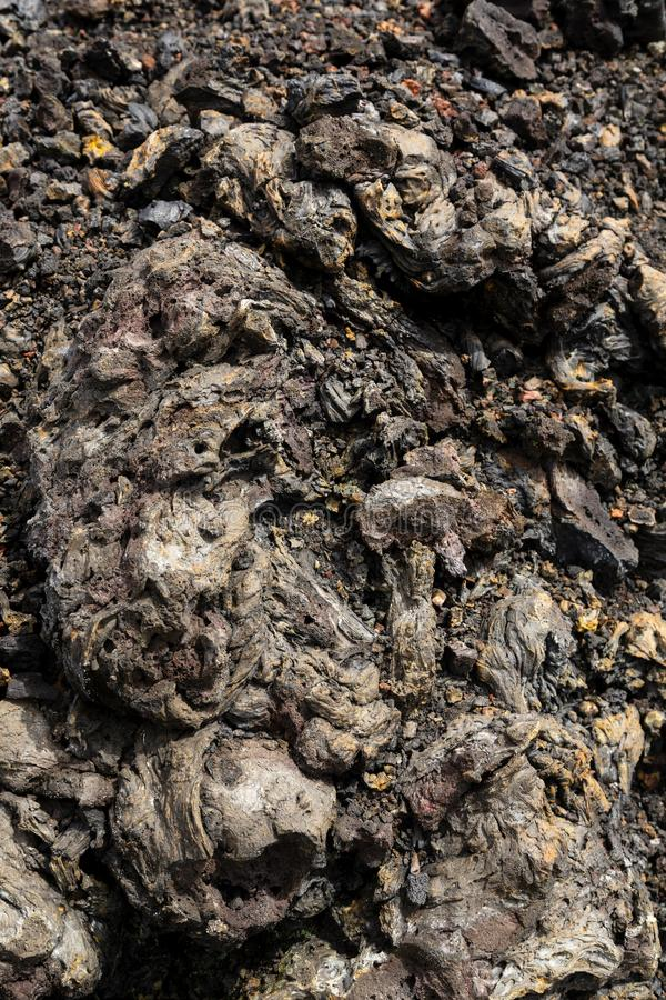 Lava Detail in Galapagos Islands stock photos