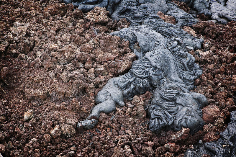 Download Lava Detail, Hawaii stock image. Image of beach, green - 15330559