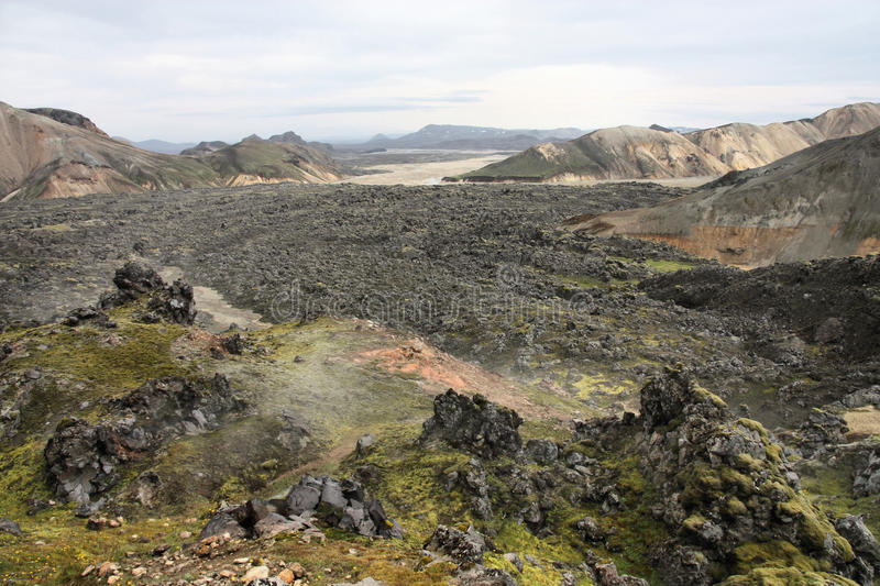 Download Lava field stock photo. Image of field, canyon, lava - 14006998