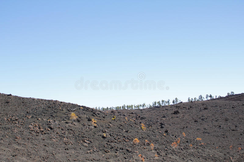 Lava Fields foto de stock