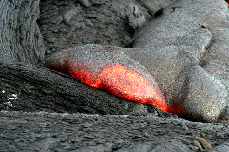 Lava Fingers royalty free stock image