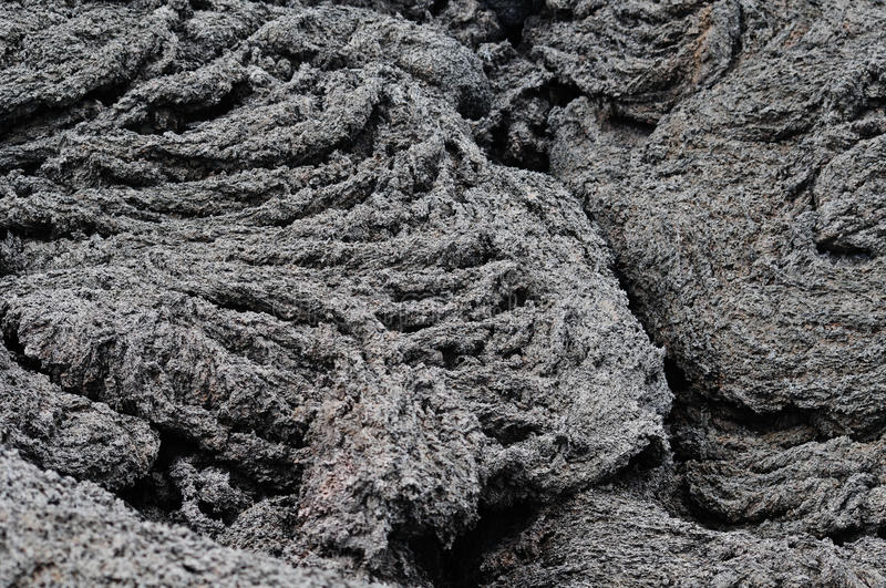 Download Lava Flow stock image. Image of magma, rock, ripples - 10409625