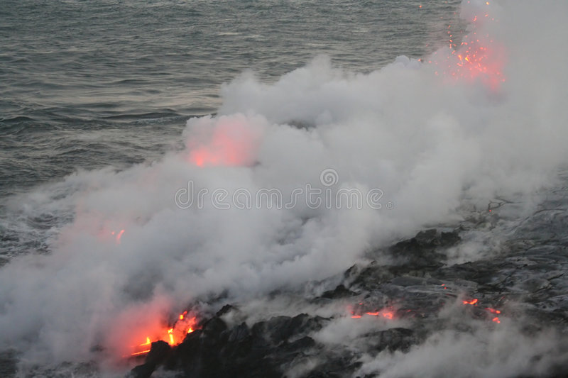 Lava flow 2 royalty free stock photo