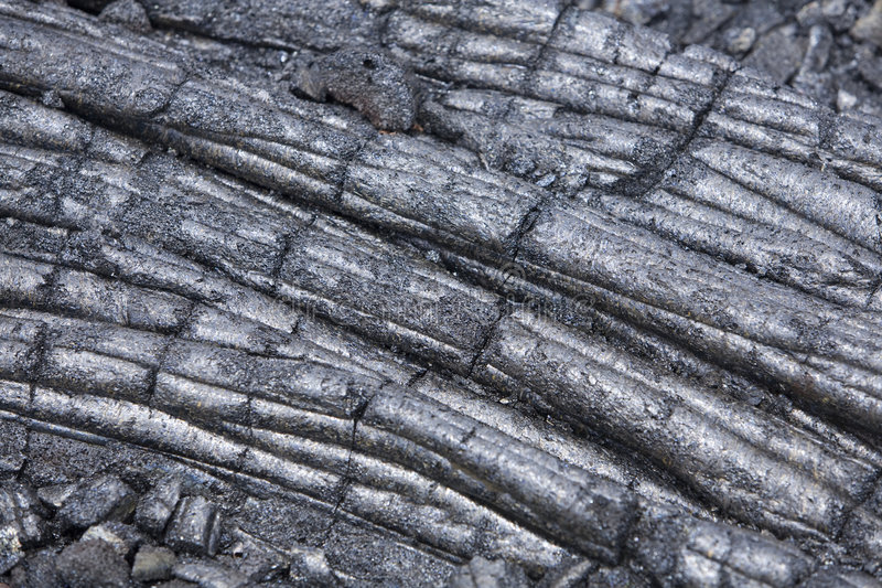 Lava Flow 9770. Hardened lava flow of the pahoehoe variety, detail shot royalty free stock image
