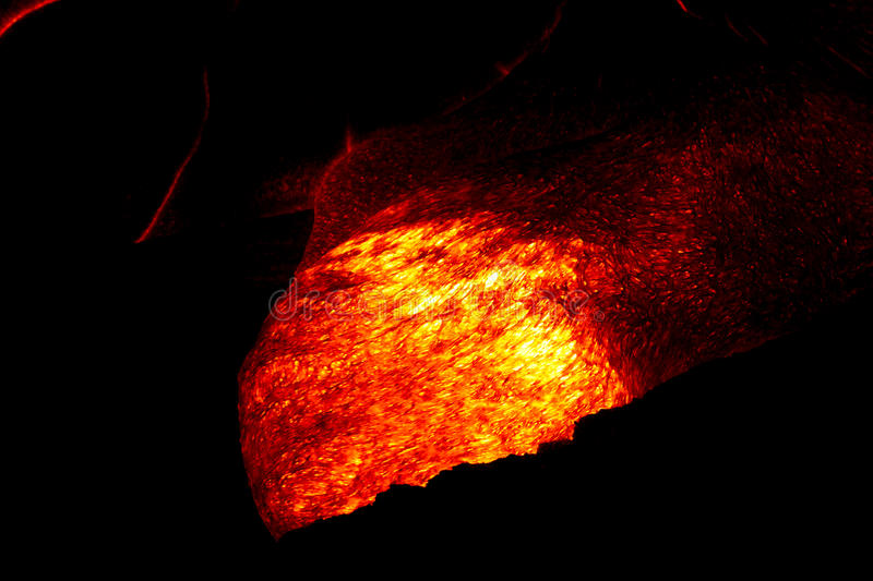 Lava flow royalty free stock photography