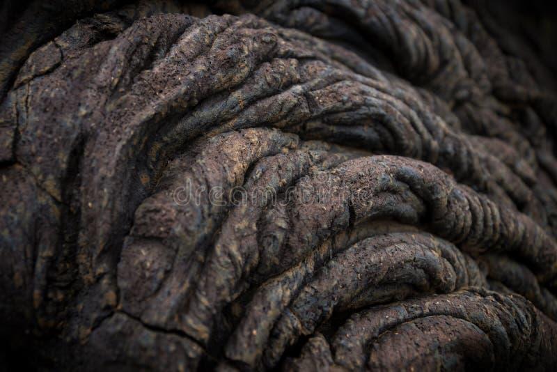 Lava formation. Lava dreads in el golfo, el hierro, spain, canary islands stock photos